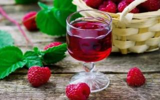 Рецепт приготовления малинового ликера