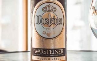 Пиво Варштайнер и его особенности