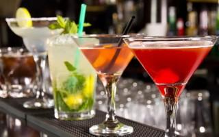 Популярные коктейли из водки в домашних условиях