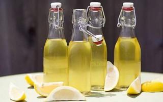 Как приготовить лимонную настойку на водке или спирту в домашних условиях