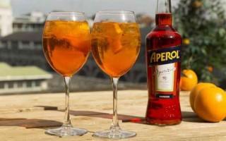 Рецепт коктейля Апероль Шприц в домашних условиях