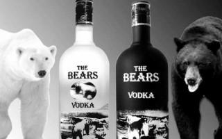 Водка Медведь и ее особенности