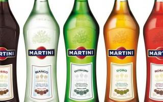 Сколько калорий в Мартини