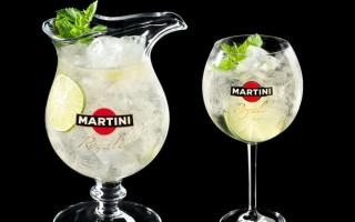 Рецепты приготовления коктейля Мартини Рояль