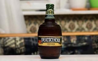Обзор пива Трехсосенское