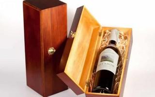 Как подобрать коробку к вину на подарок