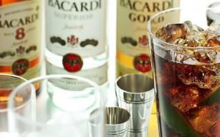 Рецепты коктейлей на основе рома с колой