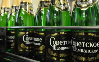 Обзор Советского шампанского