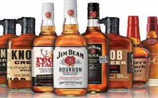Обзор видов американского виски
