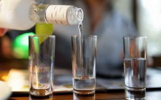 Калорийность водки