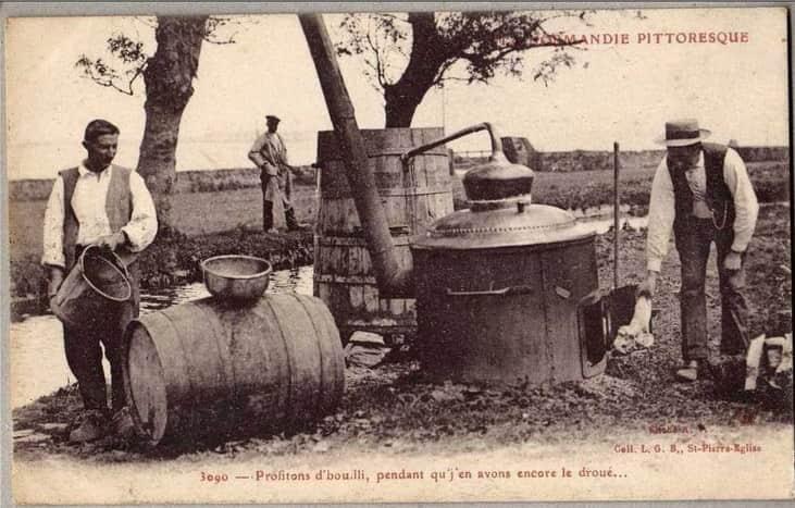 история яблочной водки кальвадос