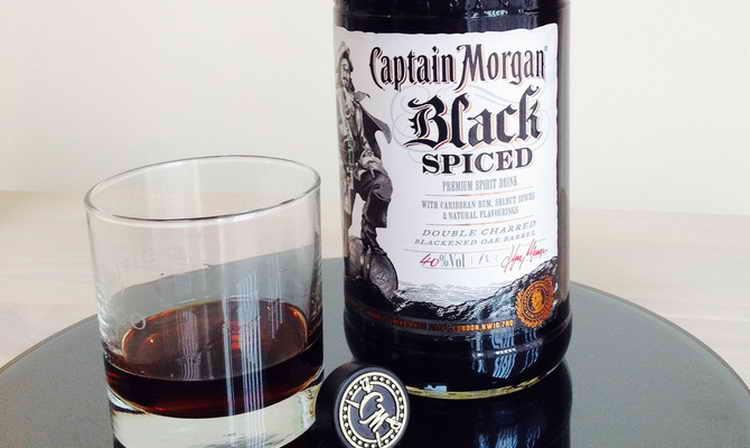 ром капитан морган черный пряный