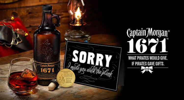 капитан морган алкоголь