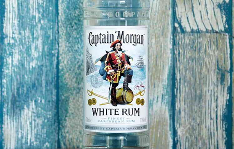 rum captain morgan jamaica rum