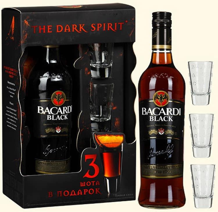 Как пить темный ром бакарди