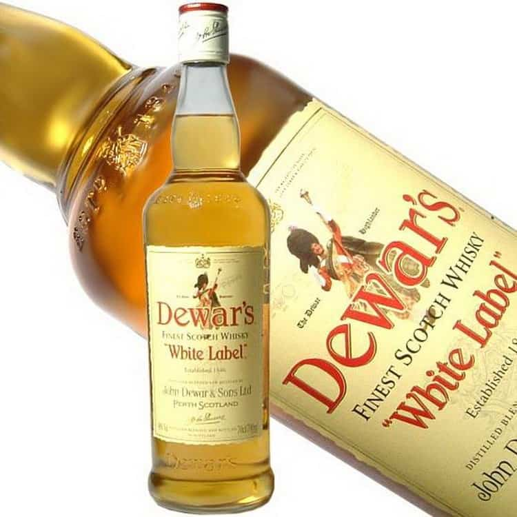 Чем запивать dewars 18 лет
