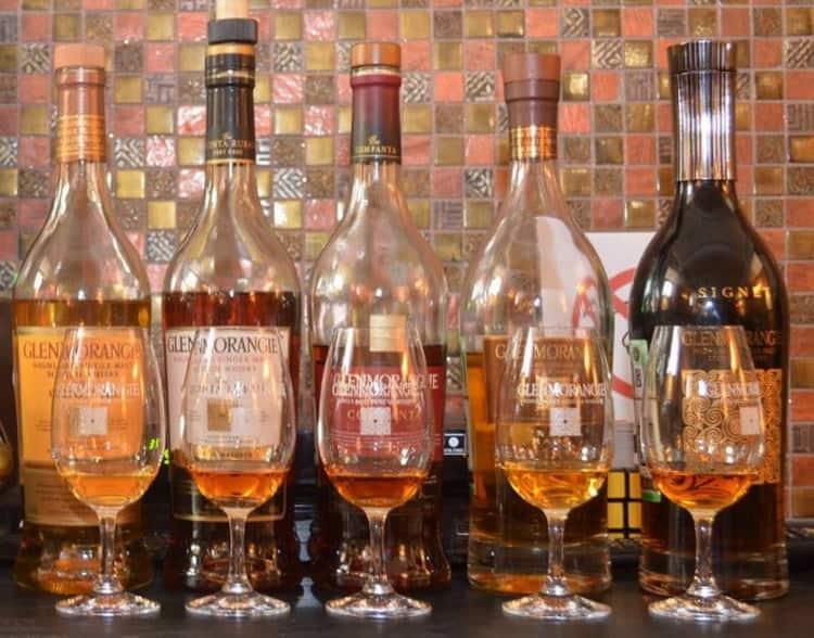 С чем пить виски гленморанж