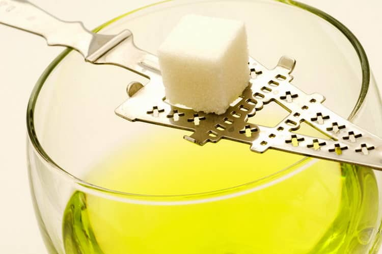 С чем пить абсент tunel green