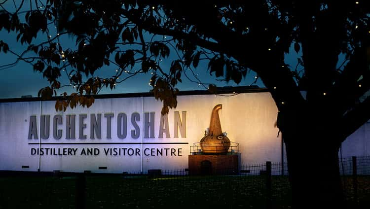 Где производят виски auchentoshan