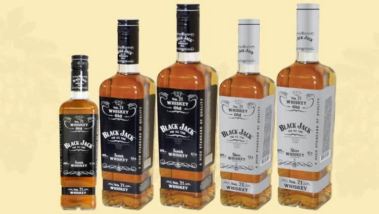 Как подавать блэкджек виски