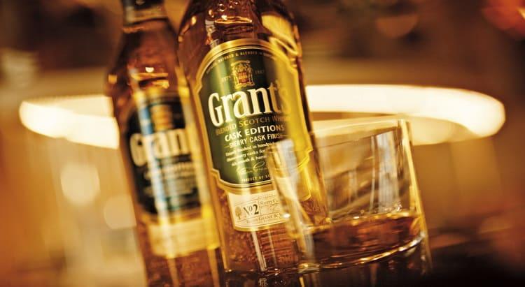 как правильно подавать шотландский виски grants