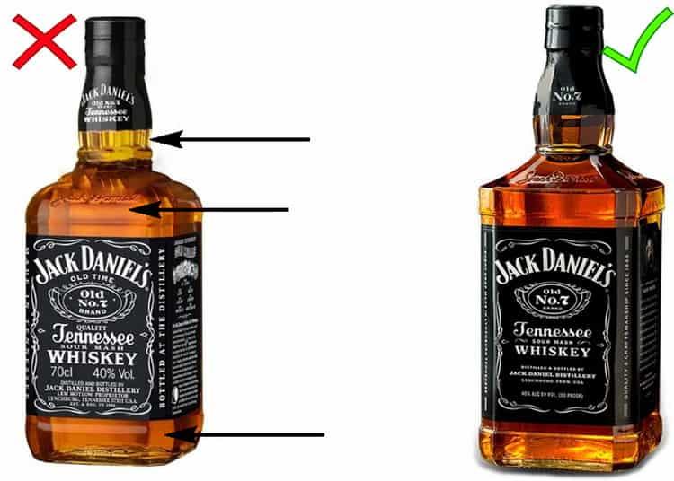 Как отличить подделку от настоящей бутылки джек дэниэлс