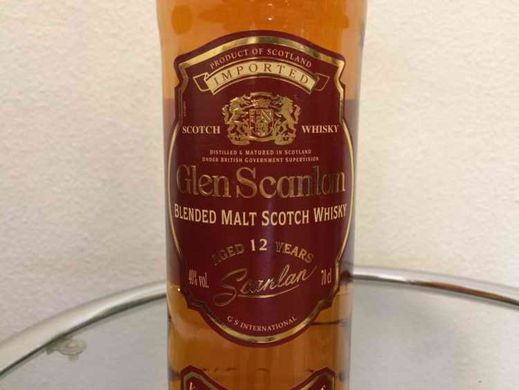 Glen Scanlan Blended Malt Scotch Whisky