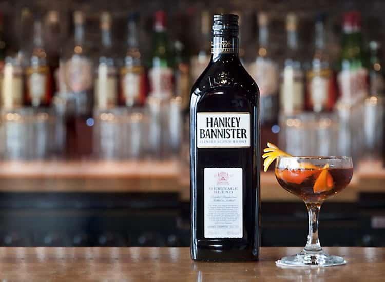 С чем смешивать виски hankey bannister