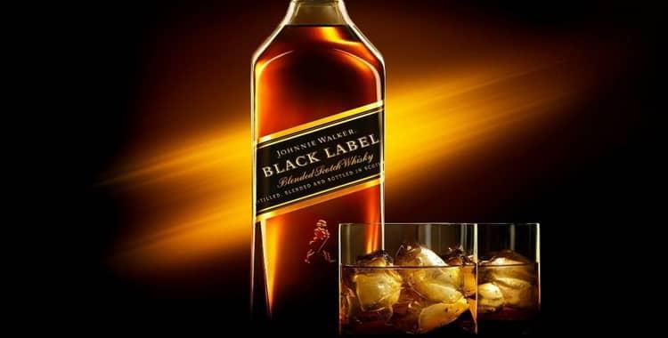 Виски Johnnie Walker Black Label (Джонни Уокер Блэк Лейбл) и его особенности