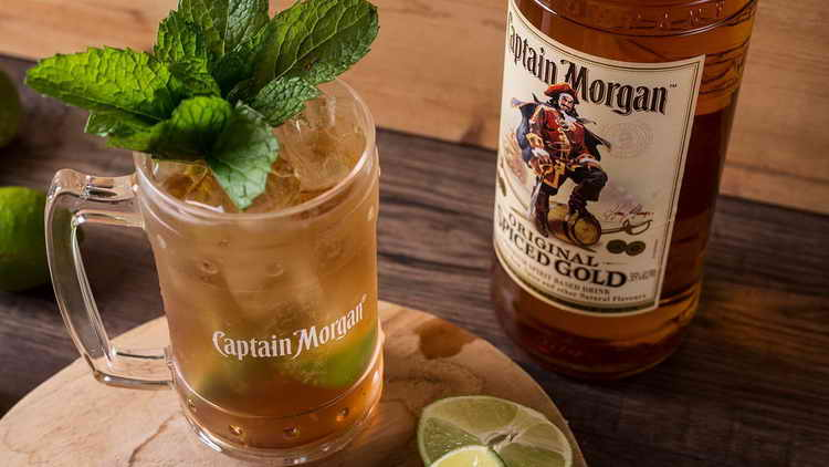 с чем пить ром капитан морган золотой