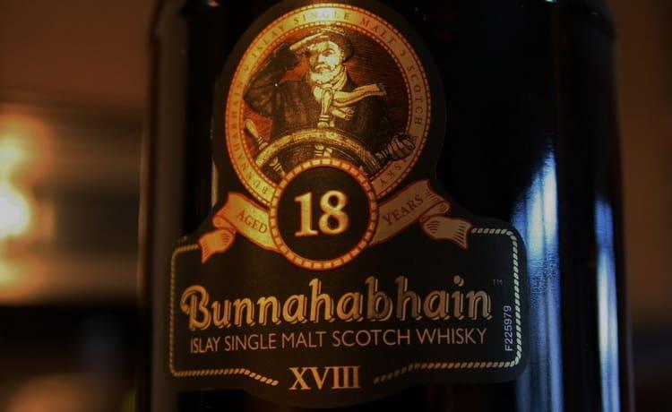 виски Bunnahabhain 18 лет