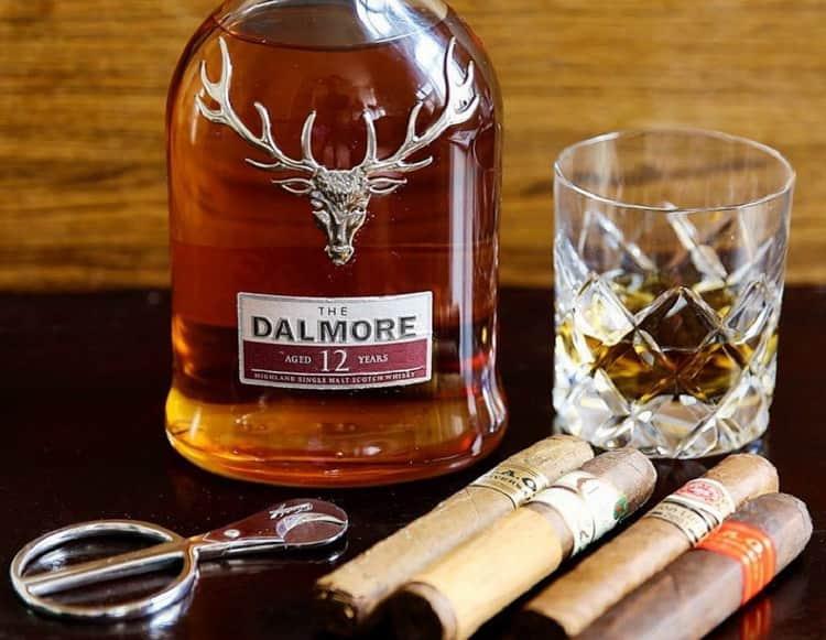 с какими продуктами сочетается виски dalmore valour