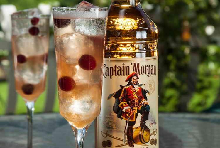 коктейли с капитаном морганом золотым
