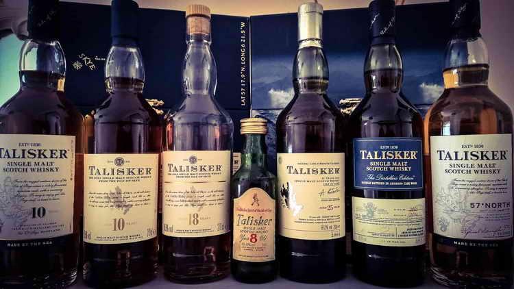 виски talisker 10