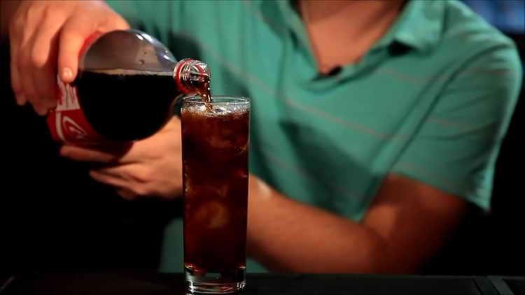 виски с колой пропорции без льда