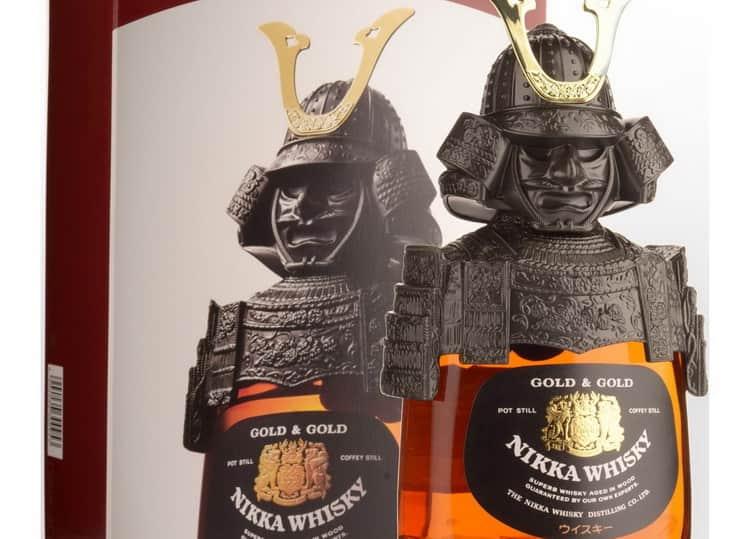 подарочный виски никка самурай