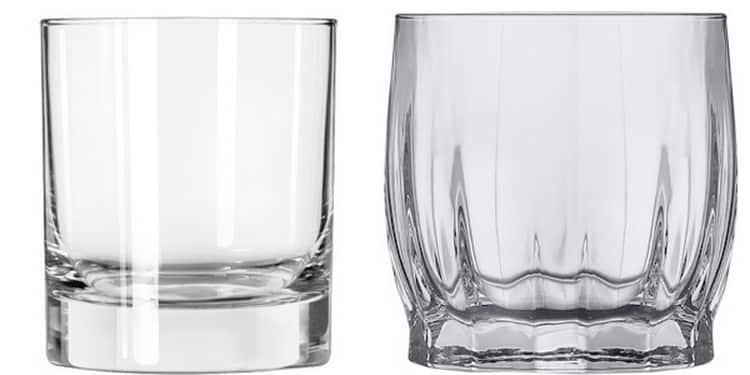 В каких бокалах подают виски черное и белое