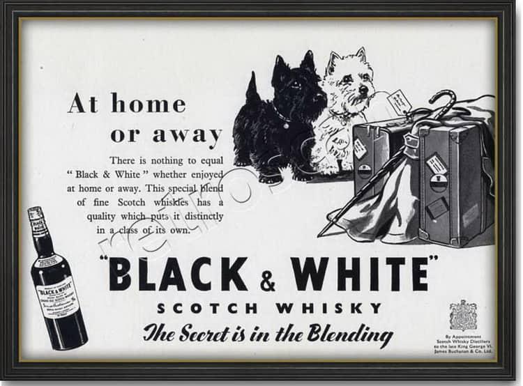 описание виски черное и белое