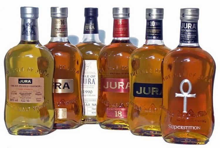 Обзор виски jura