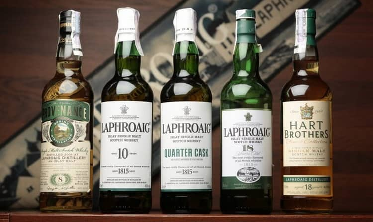 Обзор виски лафройг 18 лет