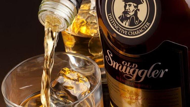 Как подавать виски old smuggler