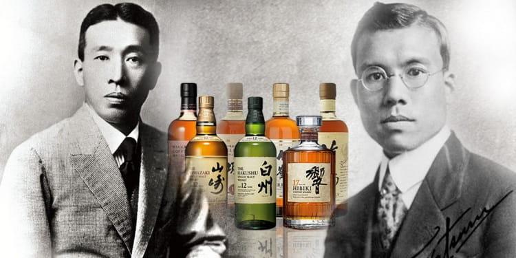 история бренда японского виски suntory old