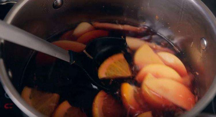Пошаговый рецепт приготовления безалкогольного глинтвейна в домашних условиях