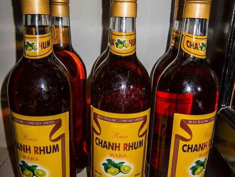 Ром из Вьетнама можно купить только в специализированных магазинах, хотя он и не дорогой.