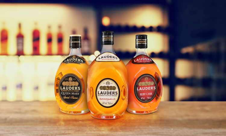 Виды виски Lauder's