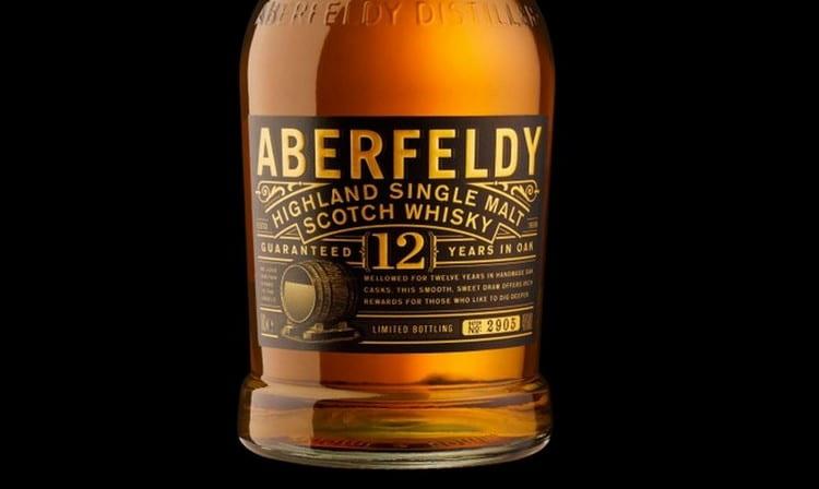 Вот так выглядит виски aberfeldy 12 years old.