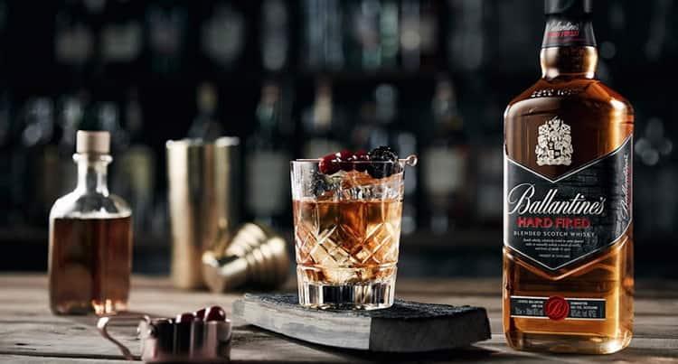 Как правильно подавать виски ballantines finest
