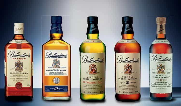 Виды виски ballantine s finest