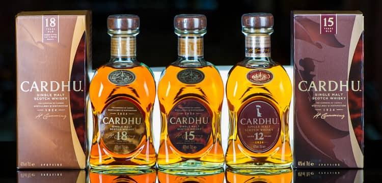 Описание виски cardhu 12 лет