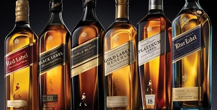 Посмотрите у нас классификацию виски ДЖонни Уокер, чтобы знать все виды label виски.